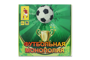 Гра Стратег футбольна монополія кор. 25см25см5см 00716
