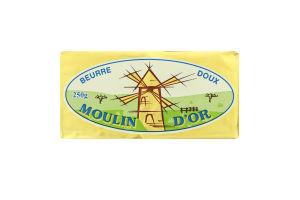 Масло 82% несолоне вершкове Moulin D'or м/у 250г