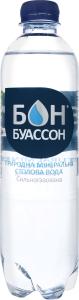 Вода мінеральна сильногазована Дніпропетровська Бон Буассон п/пл 0.5л