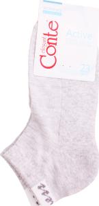 Шкарпетки жіночі Conte Active №16С-92СП 23 світло-сірий