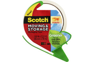 Scotch Greener Moving & Storage Packaging Tape