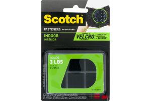 Scotch Fasteners Indoor Black - 12 CT