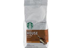 Starbucks House Blend Medium Ground Coffee