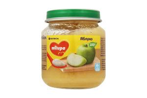 Пюре для дітей від 4міс Яблуко Milupa с/б 125г