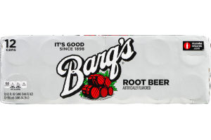 Barq's Root Beer - 12 CT