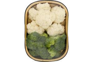 East Coast Fresh Broccoli & Cauliflower Florets