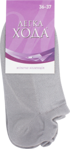 Носки женские Легка хода №5310 23 серебро