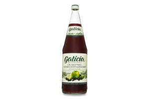 Сок Galicia яблочно-черносмородин прям.отжима стек
