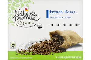 Nature's Promise Organic Dark Roast K-Cup Coffee French Roast - 36 CT