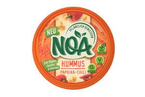 Закуска з нута Хумус паприка-чілі ТМ NOA