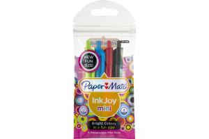 Paper Mate Ink Joy Mini Retractable Pens Bright Colors - 4 CT