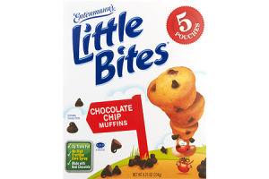 Entenmann's Little Bites Chocolate Chip Muffins - 5 PK