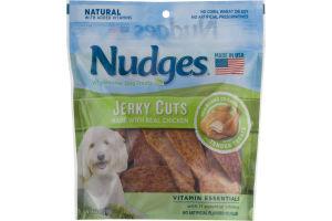 Nudges Wholesome Dog Treats Jerky Cuts