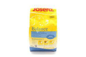 Корм Josera Balance для дорослих собак Повноцінний 1,5кг