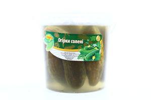 Огірки Ольвита солені 900г х6