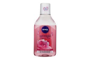 Вода мицеллярная двухфазная Organic Rose Nivea 400мл