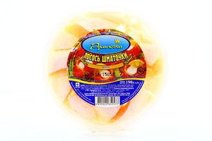 Лосось Русалочка филе-кус в масле п/б 190г