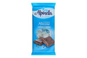 Шоколад Alpinella молочний 90г