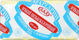 Маргарин 40% АндріївськаСлобода Лад 250г
