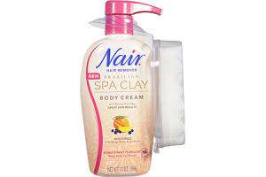 Nair Brazilian Spa Clay Body Creme Hair Remover