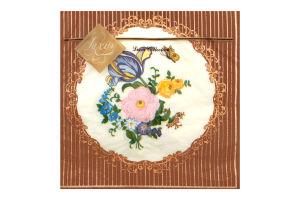 Салфетки бумажные 3-х слойные Decor Collection Luxy 20шт