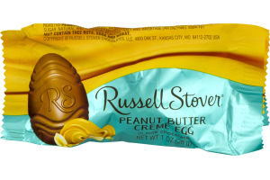 Russell Stover Peanut Butter Creme Egg in Milk Chocolate