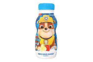 Йогурт 1.5% питьевой Клубника-Банан Paw Patrol Danone п/бут 185г