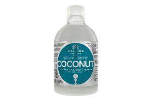 Шампунь для зміцнення волосся з натуральною кокосовою олією Coconut nutritive Kallos 1000мл