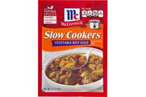 McCormick Slow Cookers Vegetable Beef Soup Seasoning Mix