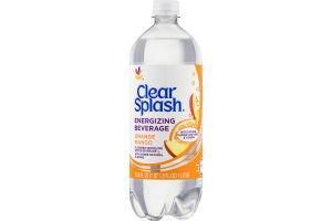 Clear Splash Energizing Beverage Orange Mango