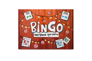 Гра настільна для дітей від 5років №30757 BinGo Strateg 1шт