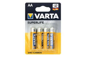 Батарейка AA 1.5V R6 Varta 4шт