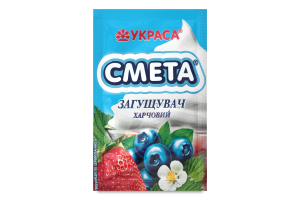 Загущувач харчовий Смета Украса м/у 12г