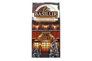 Чай черный Basilur Christmas House