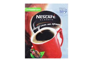 Кофе натуральный растворимый гранулированный Classic Nescafe м/у 120г