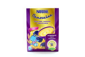 Каша безмолочная для детей от 6мес Овес, пшеница с черносливом Помогайка Nestle к/у 200г