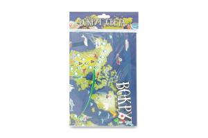 Игра настольная для детей от 3лет №1715 Вокруг света Волшебный остров 1шт