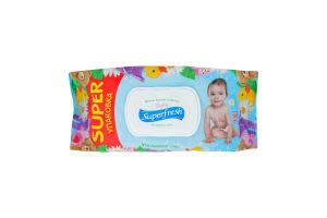 Салфетки влажные для детей и мам Baby Superfresh 120шт