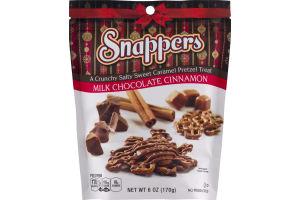 Snappers Milk Chocolate Cinnamon Pretzel Treat