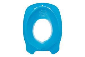 Накладка на унитаз для детей от 24мес голубая Комфорт Утенок Keeeper 1шт