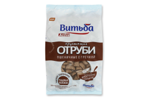 Висівки хрусткі пшеничні з гречкою Active Витьба м/у 130г