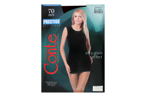 Колготки жіночі Conte Prestige №8С-50СП 70den 4-L bronz