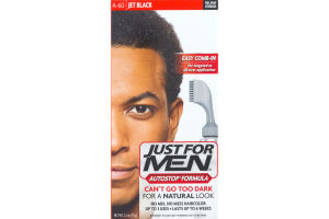Just For Men Autostop Formula Easy Comb-In Haircolor A-60 Jet Black