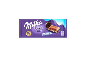 Шоколад Milka з печивом Oreo 100г х20
