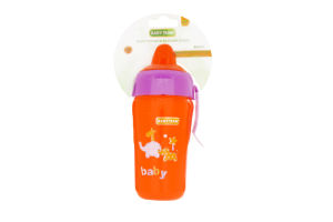 Поильник с силиконовым носиком 300мл для детей от 10-ти месяцев №5012 Baby Team 1шт