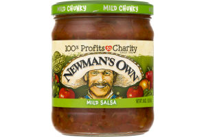 Newman's Own Mild Salsa Mild Chunky