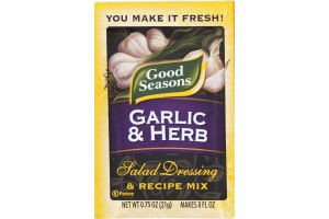 Good Seasons Garlic & Herb Salad Dressing & Recipe Mix