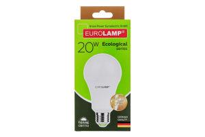 """EUROLAMP LED Лампа ЕCО серія """"P"""" A75 20W E27 3000K (50)"""