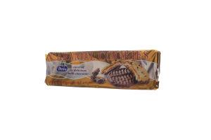 Печенье Merba кус.шок+карам.наполн. покрыт мол/шок