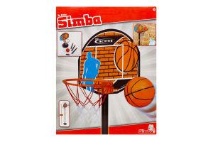Набір ігровий для дітей від 3років №7407609 Баскетбол Be Active Simba 1шт